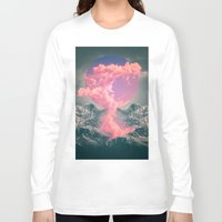 soul Long Sleeve T-shirts featuring Ruptured Soul  by soaring anchor designs