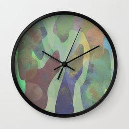 Camouflage XXI Wall Clock