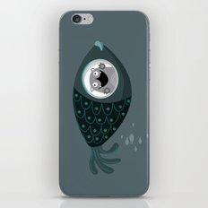Fish ride iPhone & iPod Skin