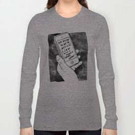 smartphone Long Sleeve T-shirt