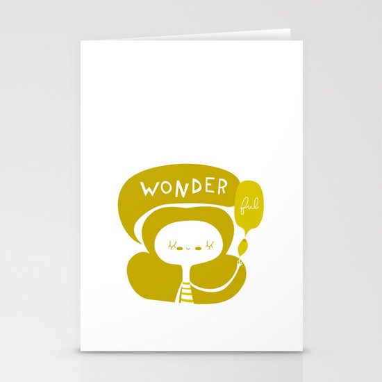 Wonder-ful Stationery Cards