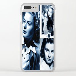 Ingrid - Ladies and Gentlemen, Ingrid Bergman Clear iPhone Case