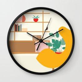 Inside mid century modern 321 Wall Clock