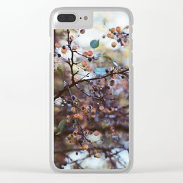 October Morning Clear iPhone Case
