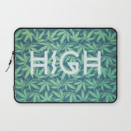HIGH TYPO! Cannabis / Hemp / 420 / Marijuana  - Pattern Laptop Sleeve