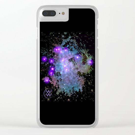 The Zodiac Sign -- Aquarius Clear iPhone Case