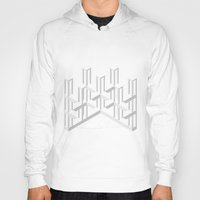 illusion Hoodies featuring Illusion by designpraxis