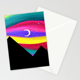 Moonlight Magic - Pyramids Silhouette Stationery Cards