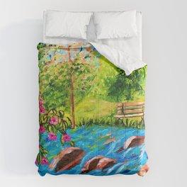 Creekside Beauty Comforters