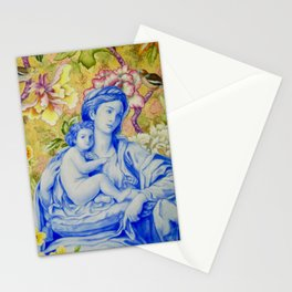 Madonna and Child with Finches Stationery Cards