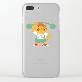 Abel Tew Year 01 Clear iPhone Case