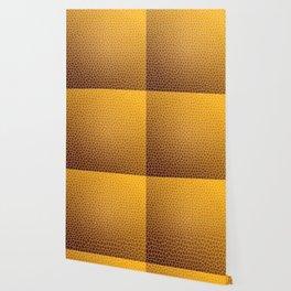 Orange Abstract Pattern Wallpaper