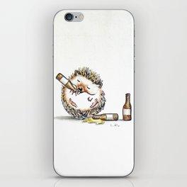 Drunk Hedgehog iPhone Skin
