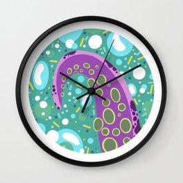 Sea Ya Purple Wall Clock