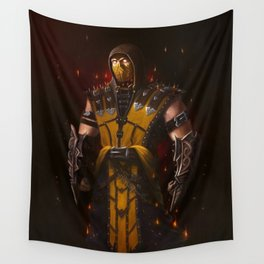 Scorpion mk game Wall Tapestry