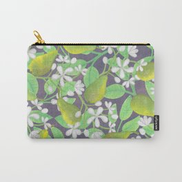 Pear Orchard Carry-All Pouch