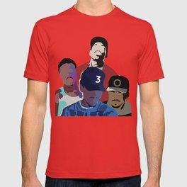Chance the Rapper - Coloring Book, Acid Rap, 10 Day, SOX T-shirt