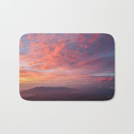 Haleakala Summit Sunset Bath Mat
