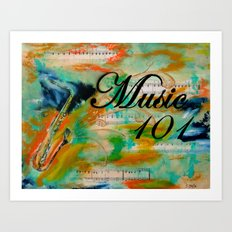 Music 101 Art Print