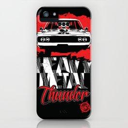 Heavy Metal Thunder iPhone Case