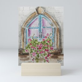 Regal Window Mini Art Print