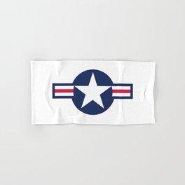 US Air force insignia HD image Hand & Bath Towel