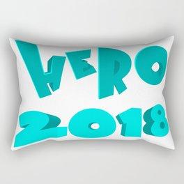 Hero 2018 Rectangular Pillow