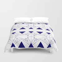 shell Duvet Covers featuring shell by pam beach