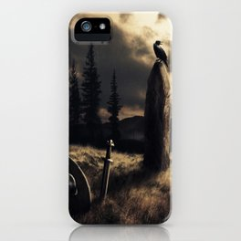 Ravens are watching iPhone Case