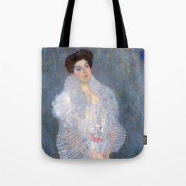 "Gustav Klimt ""Portrait de Hermine Gallia"" Tote Bag"