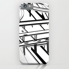 Los Angeles Black and White Slim Case iPhone 6s