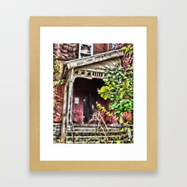 Closed for Good, Abandoned School Framed Art Print