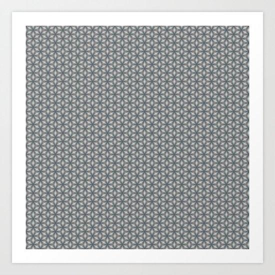 Geometric Flower Pattern 1 by alishadawn