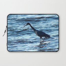 Bird Wading in the Ocean Laptop Sleeve