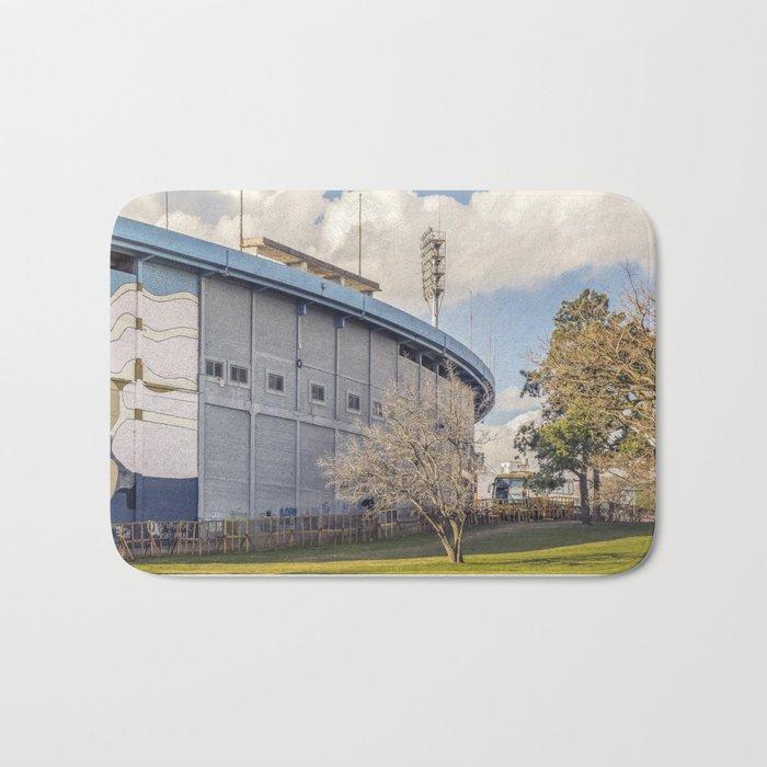 Centenario Stadium Facade, Montevideo - Uruguay Bath Mat