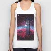 dr who Tank Tops featuring Dr Who police box  by store2u