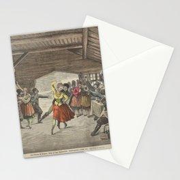 Gamborg Knud Artist BournoFra Siberien til Moskou Ballet af Aug Bournonville Slutningsscene i forste ActAdditional Fra Siberien til Moskow Stationery Cards