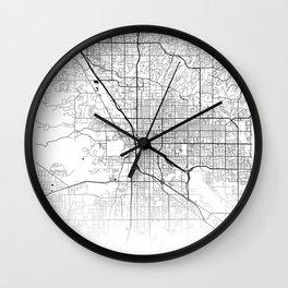 City Map Neck Gaiter Tucson Arizon Neck Gator Wall Clock