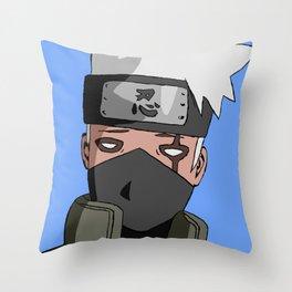 Annoyed Ninja Throw Pillow