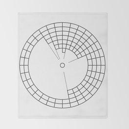 Circular Periodic Table Throw Blanket