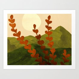 Oahu Morning - Impressionist Landscape Painting Art Print