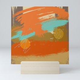 Secret Places, Abstract Landscape Art Mini Art Print