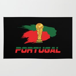 World cup portugal Rug
