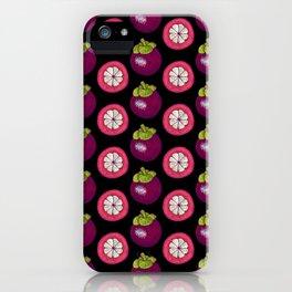 strange fruits (mangosteen) iPhone Case