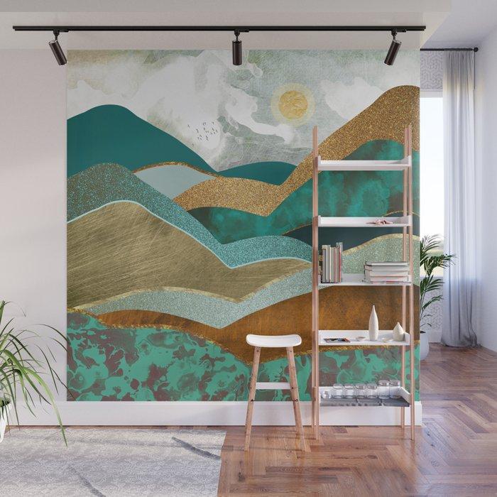 Golden Hills Wall Mural