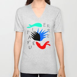 Pierre a Feu by Henri Matisse Artwork For Posters Tshirts Prints Bags Men Women Youth Unisex V-Neck