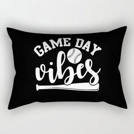 Game Day Vibes Rectangular Pillow