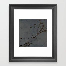 Jackson Pollock Inspired Study In Black - Glam Framed Art Print
