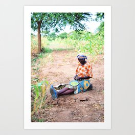 Kenya / Kitui Woman Art Print