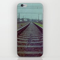 russia iPhone & iPod Skins featuring Railroad. Russia. by Slava Joukoff